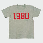 80KIDZ - 1980 Tee (gray/red)
