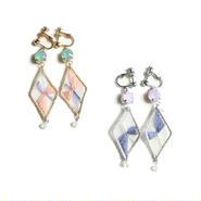 CRYSTAL DIAMOND PIERCE/EARRING