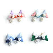 CRYSTAL TRIANGLE EARRING