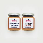 ピーナッツクリーム+ペースト(ノンシュガー )2個セット