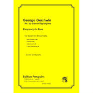 George Gershwin Rhapsody in Blue for Clarinet Ensemble