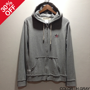 [SALE][30%OFF] PROJECT SR'ES(プロジェクトエスアールエス) / CRACKERS HOODED JACKET(フルジップパーカー) / No.JKT00563