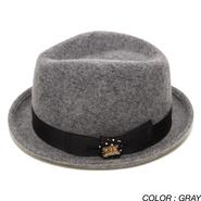 PROJECT SR'ES (プロジェクトエスアールエス) / ROOL UPS WOOL HAT (フェルト素材中折れハット) / No.HAT00385