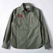 PROJECT SR'ES(プロジェクトエスアールエス) / MILITARY SHIRT JACKET(肉厚ミリタリーシャツ) / No.JKT00573 / 送料無料 / 日本製