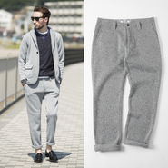 [SALE][30%OFF] PROJECT SR'ES(プロジェクトエスアールエス) / KNIT FLEECE EASY PANT(ニットフリースイージーパンツ) / No.PNT00489