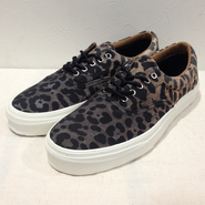 VANS(バンズ) / Era CA (Ombre Dyed Cheetah) Black / 送料無料