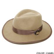 PROJECT SR'ES(プロジェクトエスアールエス) / CIRCLE BRIM FELT HAT(つば広中折れハット) / No.HAT00384
