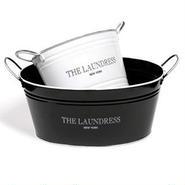 THE LAUNDRESS(ザ・ランドレス) / ウォッシングバケットL ホワイト(洗濯用バケツ)