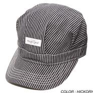 PROJECT SR'ES (プロジェクトエスアールエス) / PLACID DENIM WORK CAP (ワークキャップ) / No.HAT00379