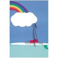 84368 PG ポストカード Rainbow