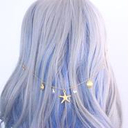 人魚姫の髪飾り