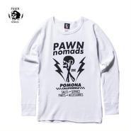 PAWN(パーン)THUNDER LOGO THERMAL ホワイト