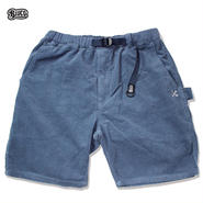 BLUCO(ブルコ)OL-005CD CORDUROY EASY PAINTER SHORTS サックス