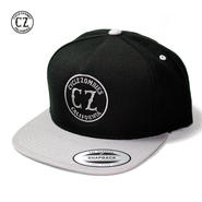 Cycle Zombies(サイクルゾンビーズ) CALIFORNIA Premium Twill Snapback Hat BlackxSilver
