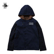 PAWN(パーン) NAVY HOODED DECK JACKET ネイビー