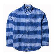 PAWN(パーン) TIE DYE PRISONER SHIRT BLUE