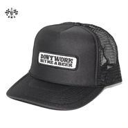 BLUCO(ブルコ) B.W.Gオリジナルキャップ Don't Work ブラック