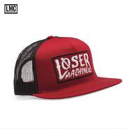 Loser Machine(ルーザーマシーン) LOCKHAVEN メッシュキャップ RED