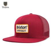 BRIXTON(ブリクストン) PALMER MESH CAP バーガンディ