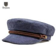 BRIXTON(ブリクストン) FIDDLER CAP ネイビーxブラウン