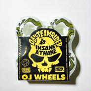 OJ WHEEL / SNAKE EZ EDGE INSANEATHANE