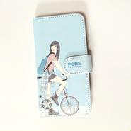手帳型ケース bicycle Girl Ⅱ