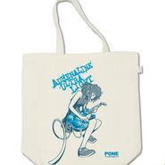 トートバッグ GuitarGirl Blue