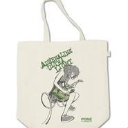 トートバッグ GuitarGirl Green