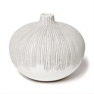 Bari vase grey  S(バリベース グレイ)