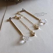 long chain&bar pierced