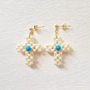 pearl cross pierce