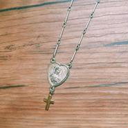 silver  maria  necklace