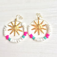 sun beads pierce