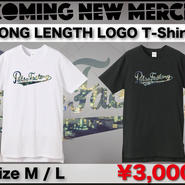 LONG LENGTH LOGO T-shirts