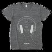QLD IN MY HEAD Tシャツ (Heather Black)