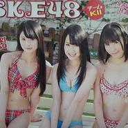 ▼00 ポスター SKE 48   A