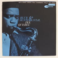 Ike Quebec ‎– Blue & Sentimental(Blue Note ‎– BLP 4098)mono