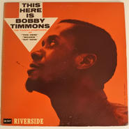 Bobby Timmons ‎– This Here Is Bobby Timmons(Riverside Records ‎– RLP 12-317)mono