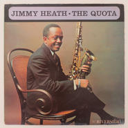 Jimmy Heath ‎– The Quota(Riverside ‎– RLP 372)mono
