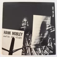 Hank Mobley ‎– Hank Mobley And His All Stars(Blue Note ‎– BLP 1544)mono
