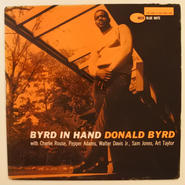 Donald Byrd – Byrd In Hand(Blue Note – BLP 4019)mono