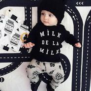 長袖セットアップ【Milk de la Milk】