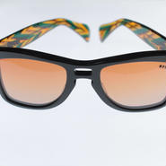 kush BLK front series /green.orange/nable