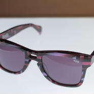 kush 80's pattern series /pink/d.purple