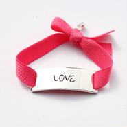 "Charm Bracelet ""Love"" - Silver -"
