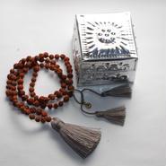 Necklace Rudraksha - 5mm(w/tin box)