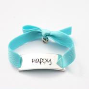 "Charm Bracelet ""Happy"" - Silver"