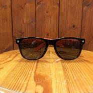 GLASSY(グラッシー) LEONARD BLACK/ORANGE/BLACKレンズ サングラス