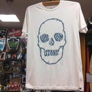 VOLCOM(ボルコム)TuffSkull Tシャツ A35116G0 カラー/ホワイト サイズ/ MEDIUM