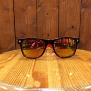 GLASSY(グラッシー) LEONARD BLACK/RED/RED MIRROR サングラスミラーレンズ